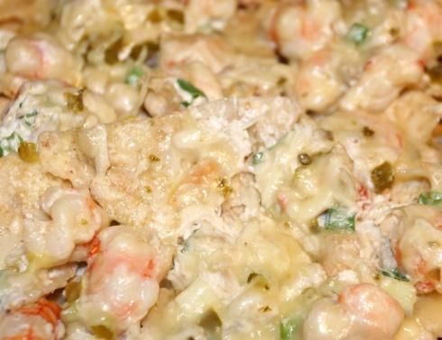 Gluttonous Shrimp and CrabNachos
