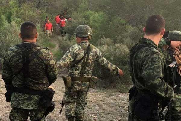 Cayó helicóptero de la Sedena en Tamaulipas