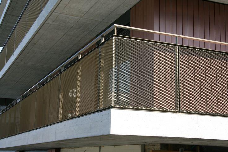 streckmetall gelaender metallpfister garten und balkon