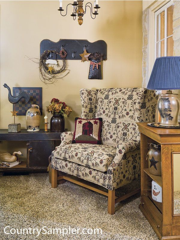 Find This Pin And More On Primitive Americana    Living Room Ideas By  Deannacorbeil.