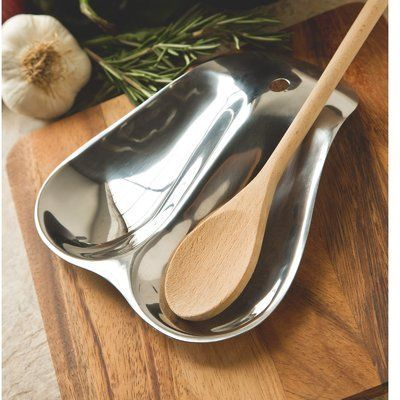 Fox Run Craftsmen Stainless Steel Double Spoon Rest