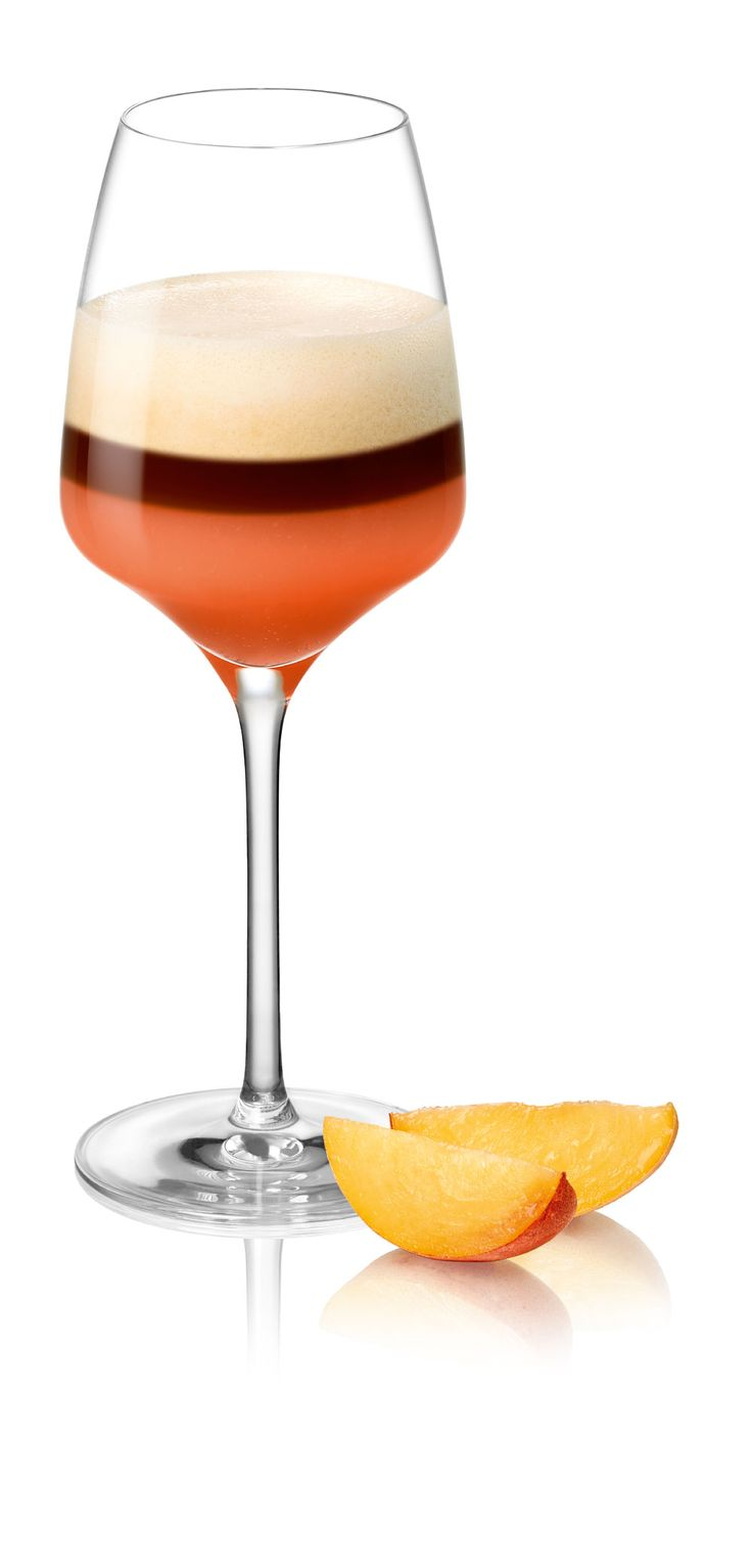 Roze koffiecocktail