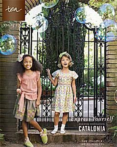 11 Places to Get Free Kids' Clothing Catalogs in the Mail: Tea Collection Kids Clothing Catalog