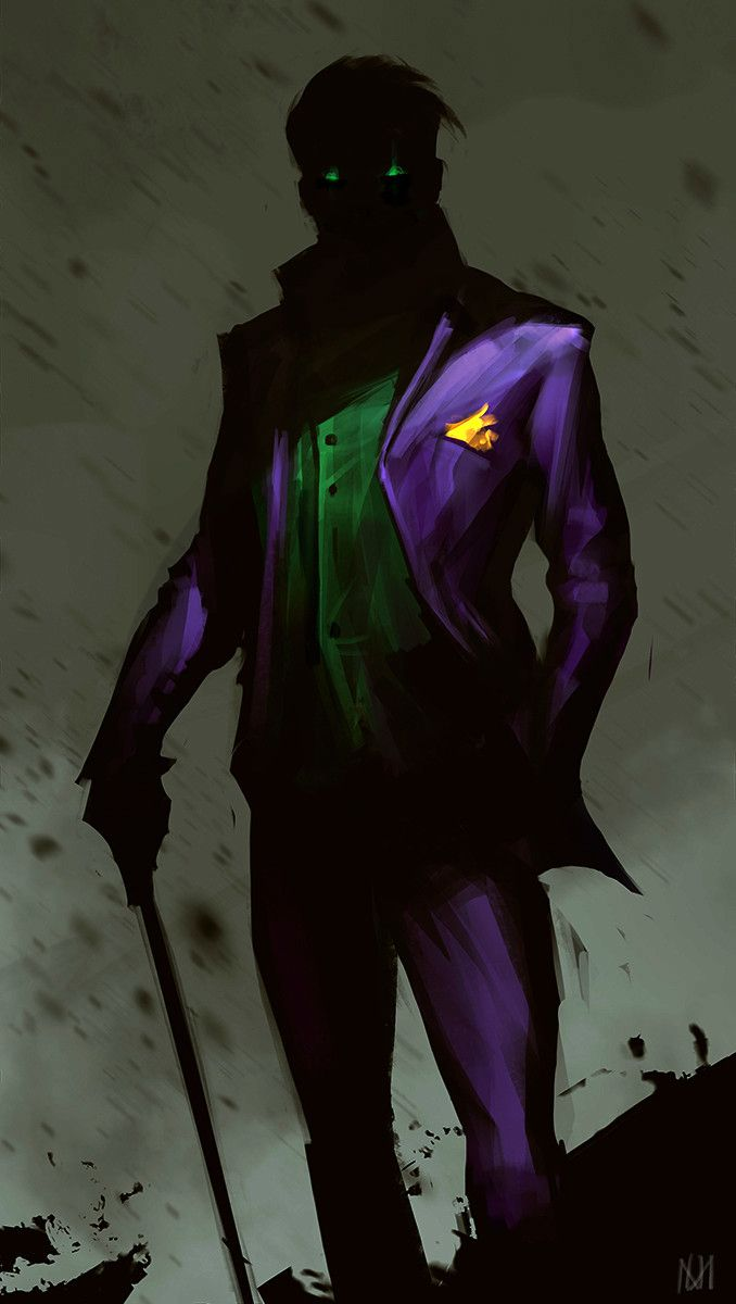 The Bat Blog | extraordinarycomics:   The Joker by Nagy Norbert.