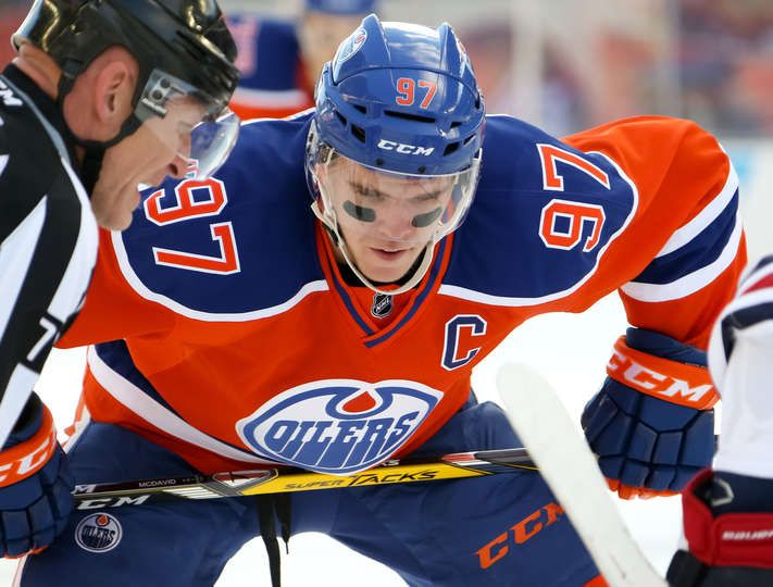 Jets vs. Oilers - 23/10/2016 - Edmonton Oilers - Photo Gallery Connor McDavid #97