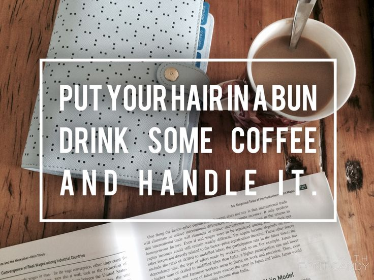 "living-that-library-lifestyle: "" Handle it ☕️ """