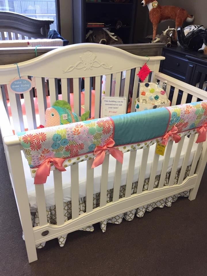 180 best coral and aqua in the nursery images on pinterest - Bedroom furniture little rock ar ...