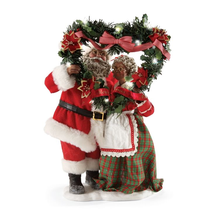 32 best Clothtique Santas images on Pinterest  Christmas