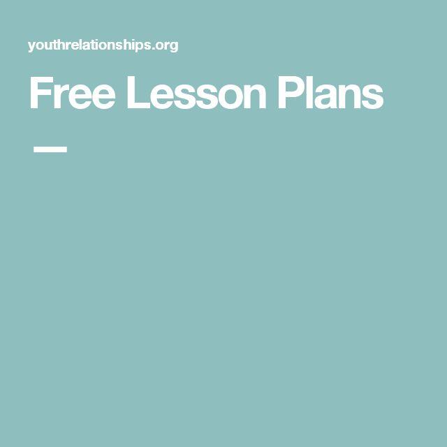 Free Lesson Plans —