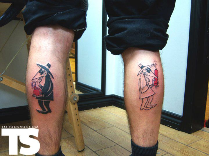 1000 images about spy vs spy on pinterest cheer salt for Electric voodoo tattoo