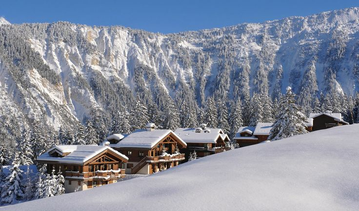 Top 10 winter holiday destinations 2014 – Courchevel 1850, France. Situated in the 3 Valleys ski domain, Courchevel features luxury hotels and one the largest areas in the world. It has four 2-starred Michelin restaurants and three with 1 star.