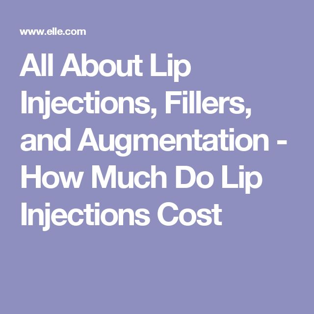 All About Lip Injections, Fillers, and Augmentation - How Much Do Lip Injections Cost
