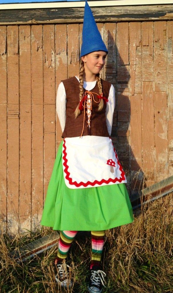 Haloween Costume Ideas - girl gnome costume