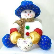 Resultado de imagen para muñecos de nieve navideños