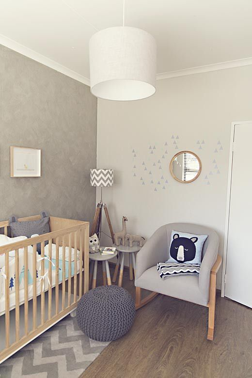 Habitación bebé decoración animales