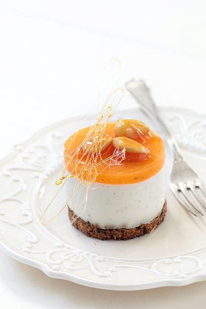 cheesecake cachi, vaniglia e noci (il cavoletto di bruxelles)