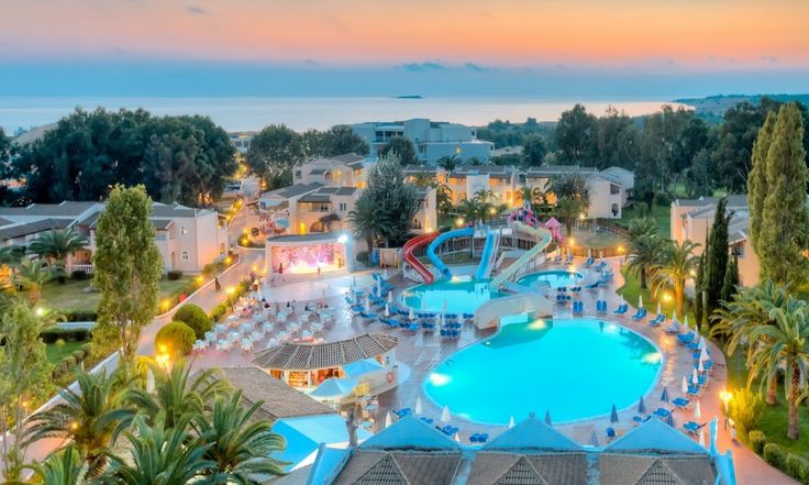 Aquis Sandy Beach Resort - Agios Georgios South, Corfu   On the Beach Recommended by a patient.