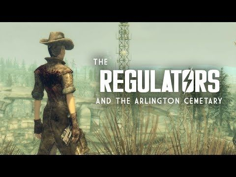 The Full Story of the Regulators and the Arlington Cemetary - Fallout 3 Lore - YouTube