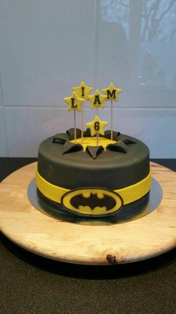 Liams taart! Batman cake! Van @dannyvanasselt