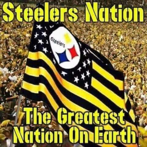 Steelers Nation!!                                                                                                                                                                                 More