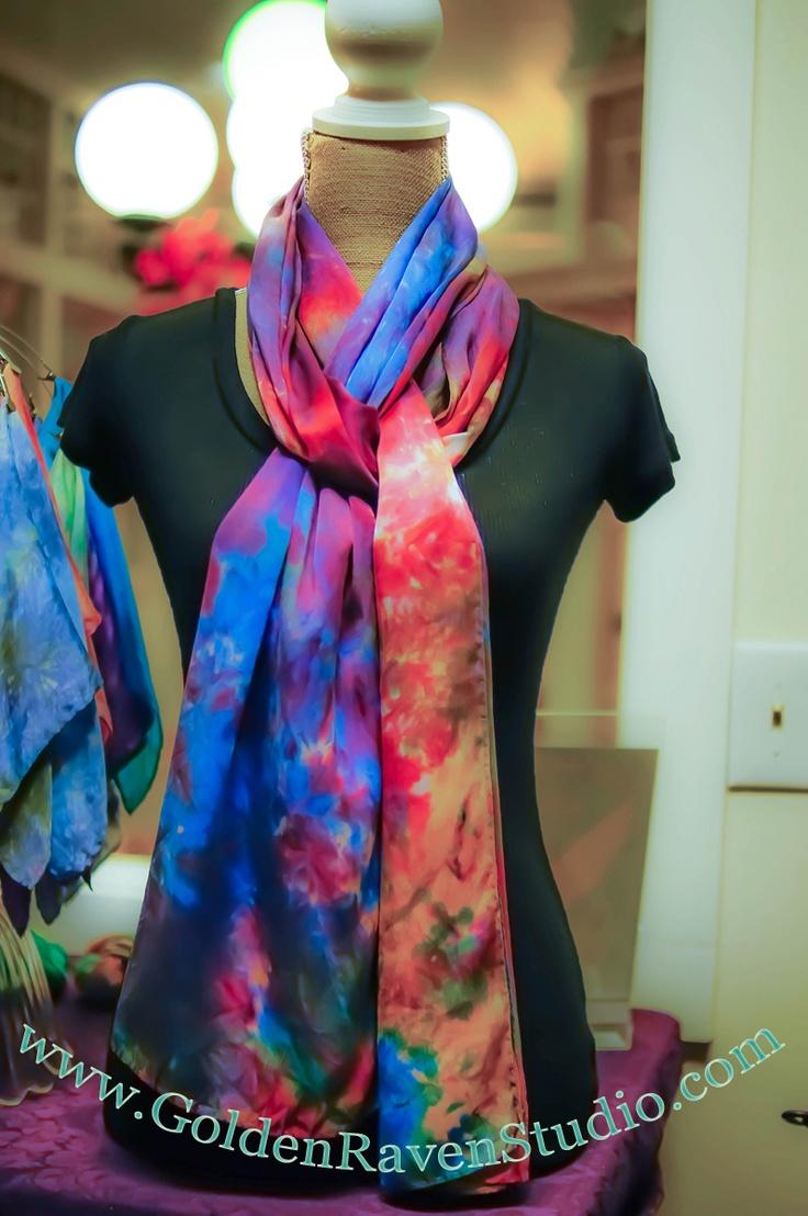 Cashmere Silk Scarf - Raven Sun by VIDA VIDA xSF0tG7