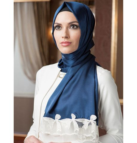 Neva Style Satin Lace Shawl 1231 | Modefa USA