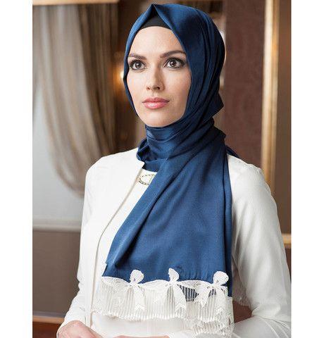 Neva Style Satin Lace Shawl 1231 | Modefa USA