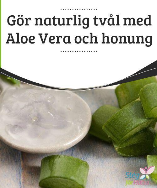 Gör #naturlig tvål med Aloe Vera och honung  Naturliga tvålar har #alltid varit mycket bättre för din huds hälsa #jämfört med de kommersiella sorterna som säljs i butikerna #eftersom de förstnämnda är fria från konstgjorda #kemiska ämnen.