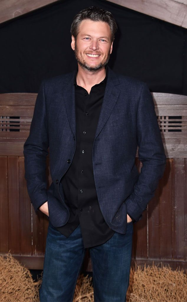 Blake Shelton from Movie Premieres: Red Carpets and Parties!  Say cheese! The Voice coach attends the premiere of Ridiculous 6 in Universal City, Calif.