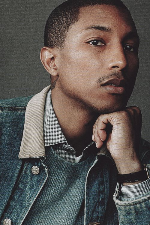 more Pharrell. Because...Pharrell.