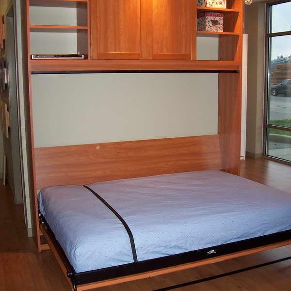 Best Murphy Bed Ikea Hacker Murphy Bed With Hardwood Floors Rv Camper Camping Pinterest 400 x 300