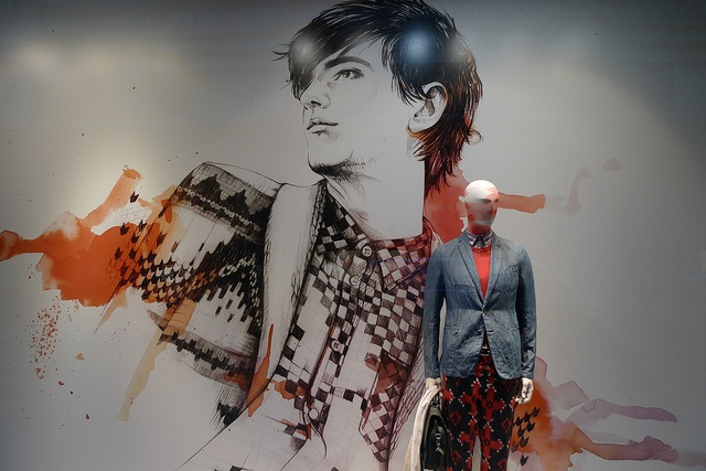 Vitrines du Printemps Homme - Paris, avril 2012 by JournalDesVitrines.com, via Flickr