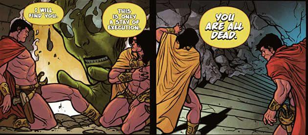 the colossus attacks the martian jeddaks