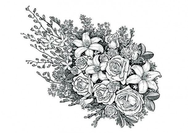 Hard Flower Coloring Pages To Print Raskraski Raskraski Mandala Cvetochnye Raskraski