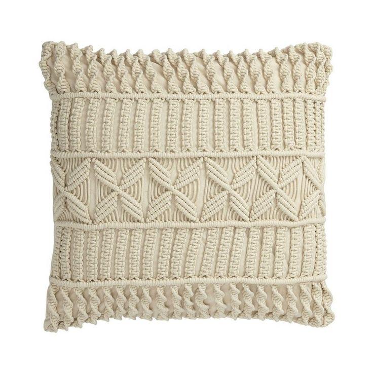 Macrame Pillow Covers Cross Braid Pillows Pillow
