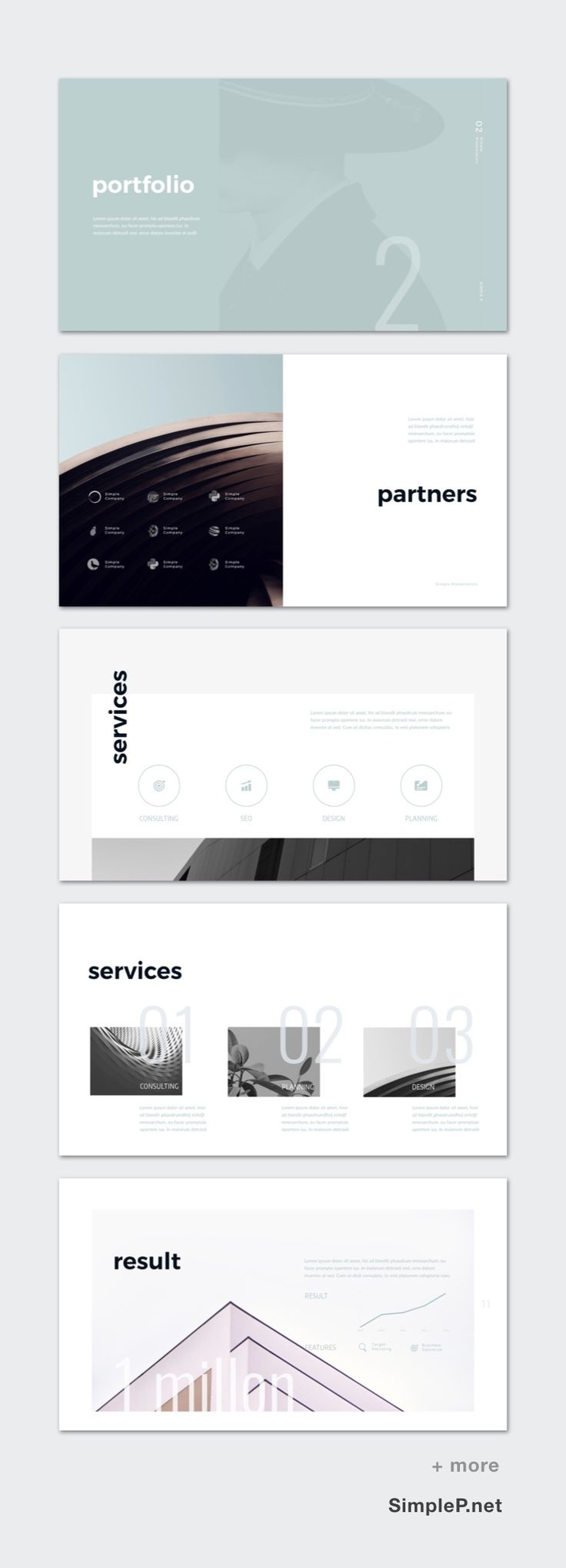 Zero Presentation Keynote Template #partners #services #flow #process #result #presentation #template #keynote #business #company #corporate #introduce #portfolio