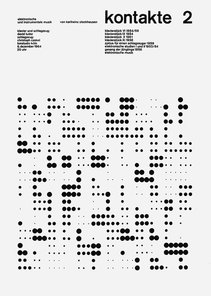 "garadinervi: "" Ursula Gaiser, Kontakte 2, 1964-1965; in René Spitz, HfG Ulm, Concise History of the Ulm School of Design, Edited by Jens Müller, Lars Müller Publishers, 2014 """