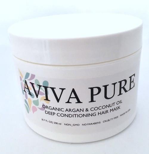 Organic Argan Oil Coconut Oil - Deep Conditioning Hair Mask