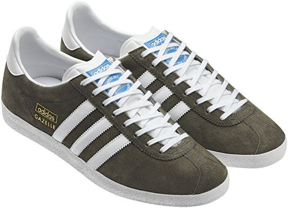 Adidas Originals Gazelle Og Trainers Forest Green