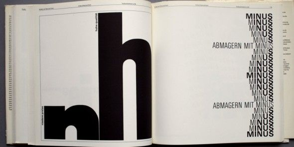"""Typography: ""A Manual of Design""   - student adaption"