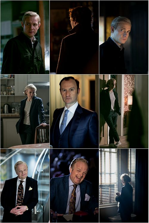 """ffaupdates: """" Site Update: Sherlock - Episodes 401 & 402 [23 HQ Tagless Stills] Please consider a reblog to help spread awareness of our galleries. """""""