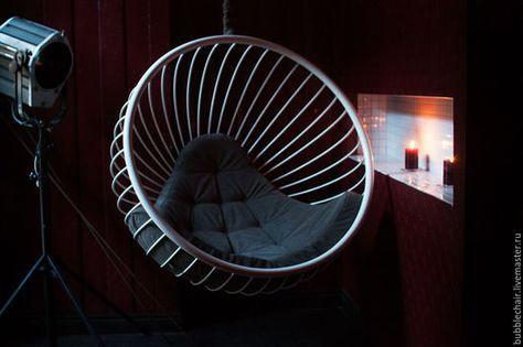 Мебель ручной работы. Ярмарка Мастеров - ручная работа. Купить Подвесное кресло шар. Handmade. Подвесное кресло, кресло бабл