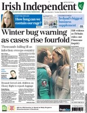 Winter bug warning as cases rise fourfold - The Irish Independent