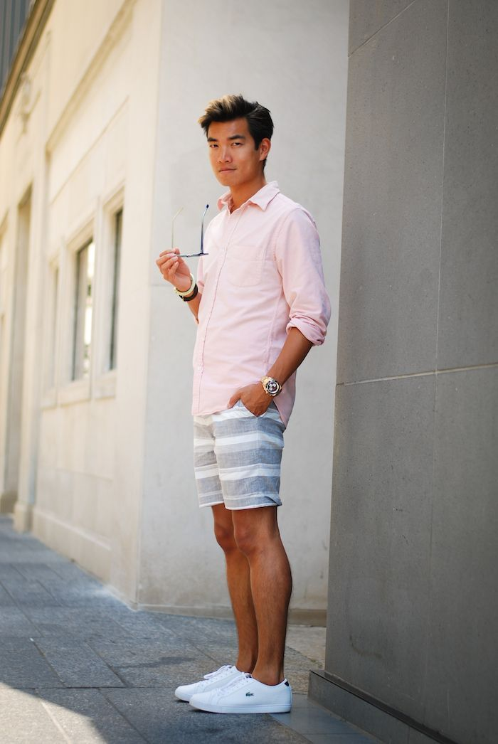 4e394a0c54b1 I actually kind of like this outfit. East coast preppy summer style ...