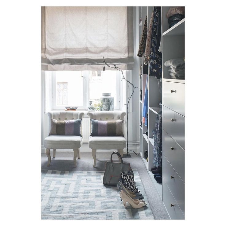 Dreamy Walk In Closet With Our Layered Byzantine Rug In