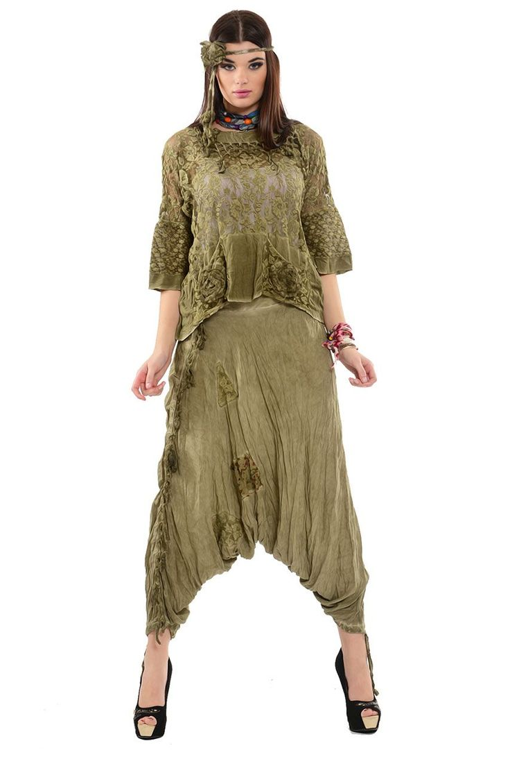 Otantik Feysa Şalvar Elbise Modelleri - Bayan Giyim