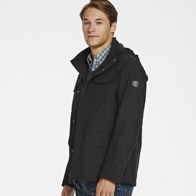 Timberland Men's Ludlow Mountain M65 Waterproof Jacket Black