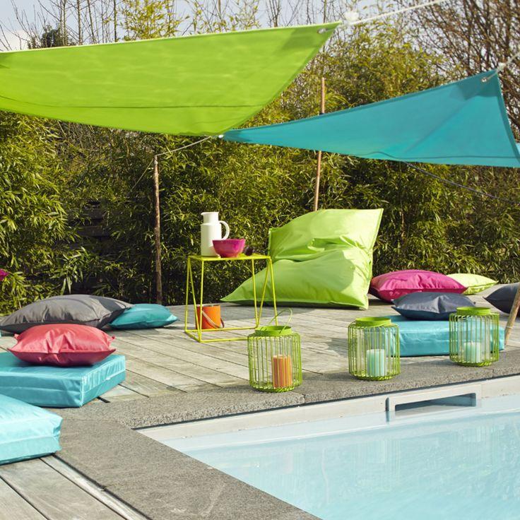 Mobilier de jardin: réalisez des coussins d'extérieur