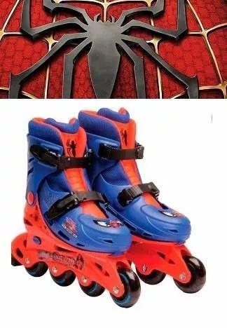 patins infantil masculino do homem aranha (33 ao 36)