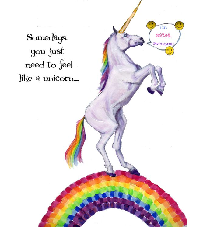 13 best bad ass greeting cards images on pinterest greeting cards awesome unicorn greeting card by glenillustrates2 on etsy m4hsunfo